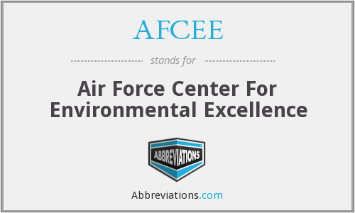 What does AFCEE stand for?