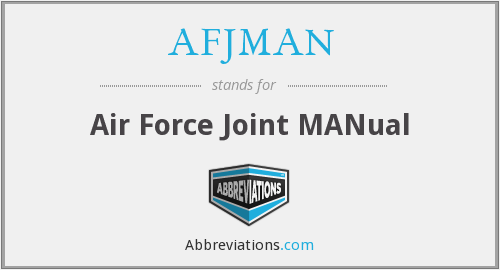 What does AFJMAN stand for?