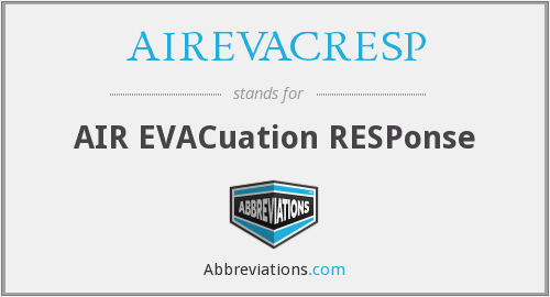 What does AIREVACRESP stand for?