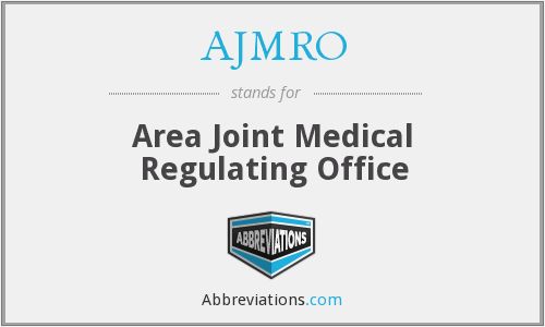 What does AJMRO stand for?