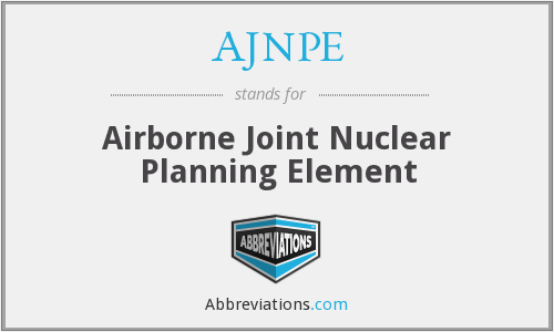 What does AJNPE stand for?