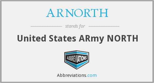 What does ARNORTH stand for?