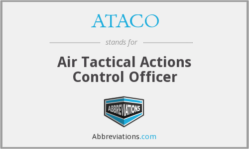 What does ATACO stand for?