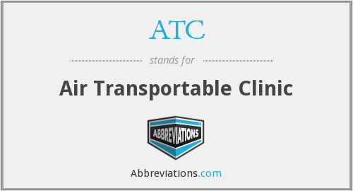 What does ATC stand for?