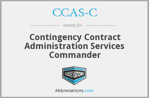 What does CCAS-C stand for?