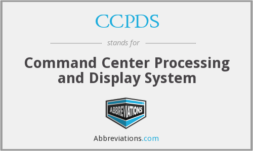 What does CCPDS stand for?