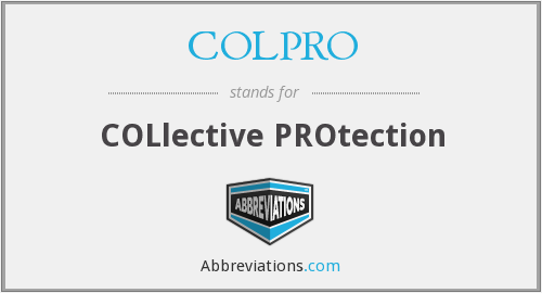What does COLPRO stand for?