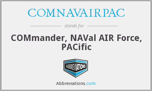 What does COMNAVAIRPAC stand for?