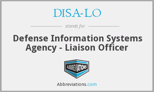 What does DISA-LO stand for?