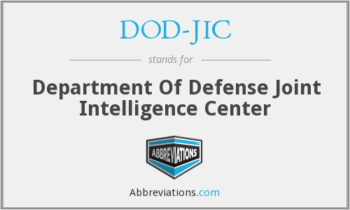 What does DOD-JIC stand for?