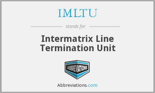 What does IMLTU stand for?