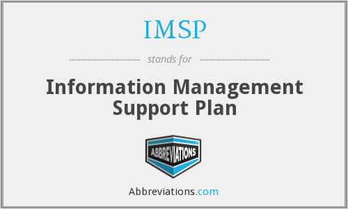 What does IMSP stand for?