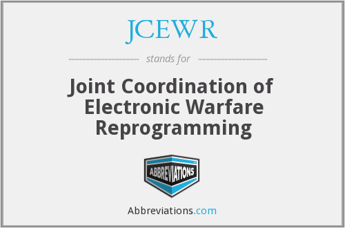 What does JCEWR stand for?
