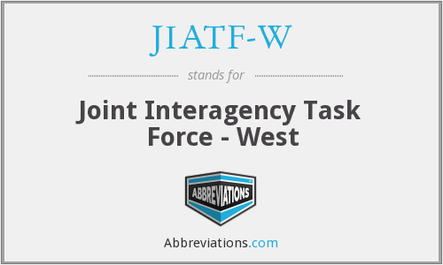 What does JIATF-W stand for?
