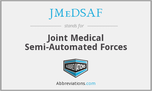 What does JMEDSAF stand for?