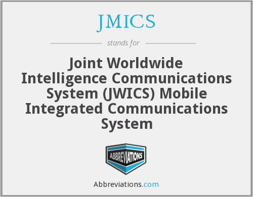 What does JMICS stand for?