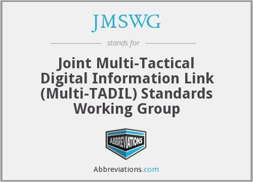 What does JMSWG stand for?
