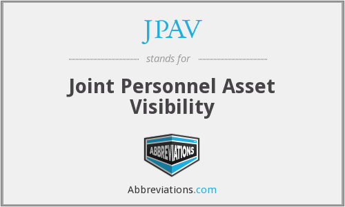 What does JPAV stand for?