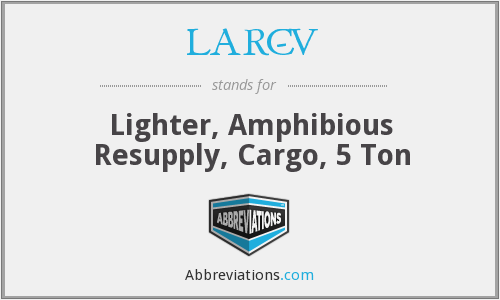 What does LARC-V stand for?