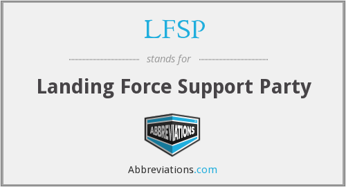 What does LFSP stand for?