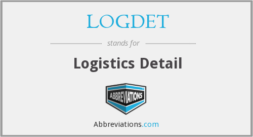 What does LOGDET stand for?