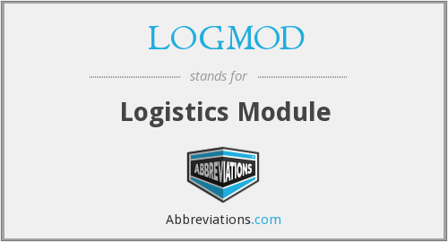 What does LOGMOD stand for?