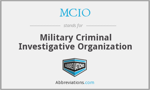 What does MCIO stand for?