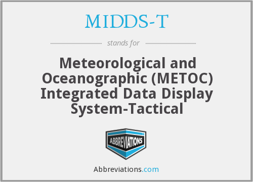 What does MIDDS-T stand for?