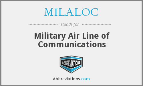 What does MILALOC stand for?