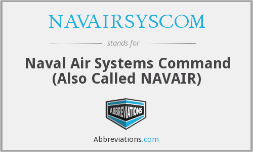 What does NAVAIRSYSCOM stand for?