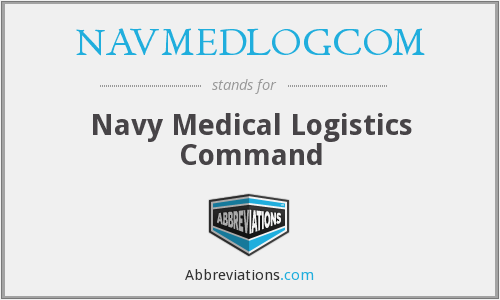 What does NAVMEDLOGCOM stand for?