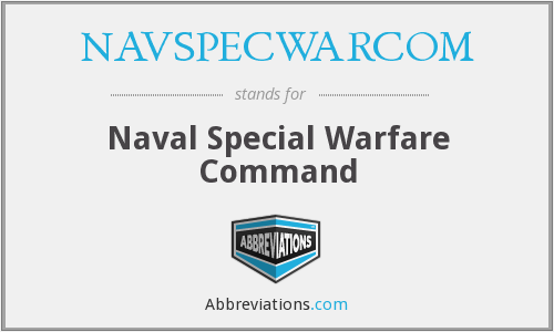 What does NAVSPECWARCOM stand for?