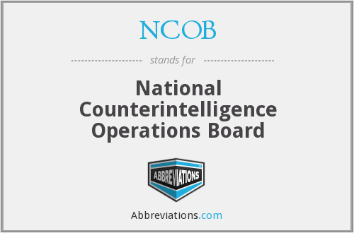 What does NCOB stand for?