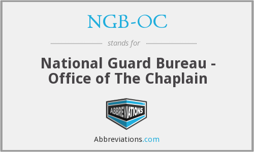 What does NGB-OC stand for?