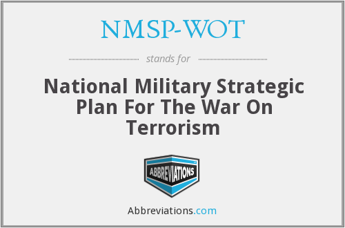 What does NMSP-WOT stand for?