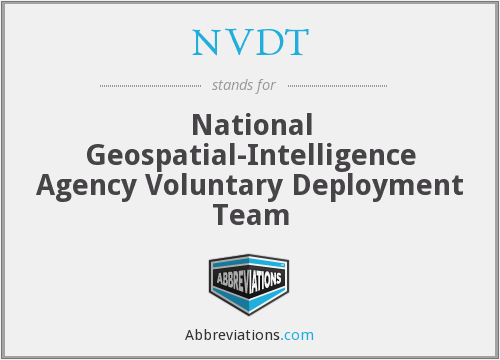 What does NVDT stand for?