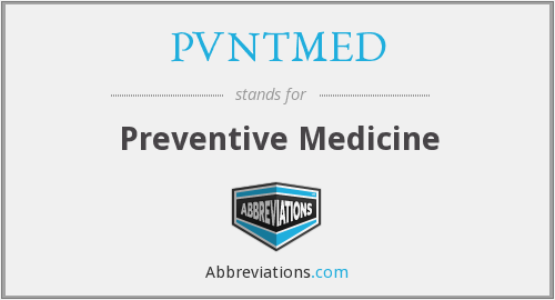 What does PVNTMED stand for?