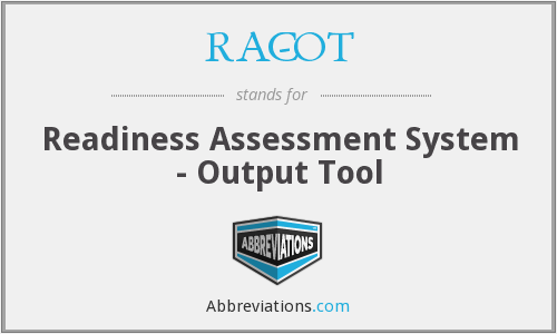 What does RAC-OT stand for?