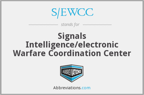 What does S/EWCC stand for?