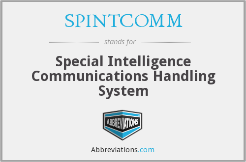 What does SPINTCOMM stand for?
