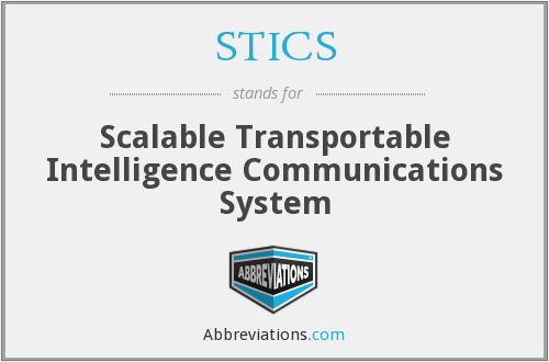 What does STICS stand for?
