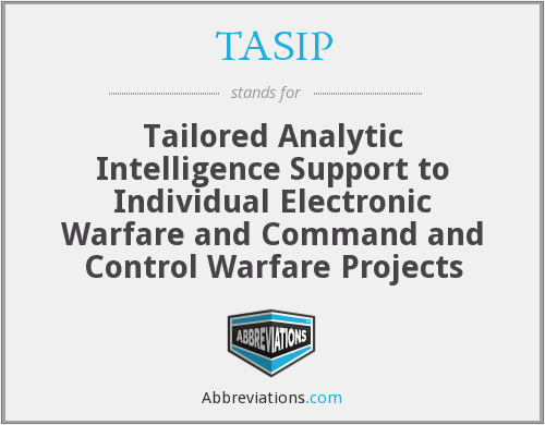 What does TASIP stand for?