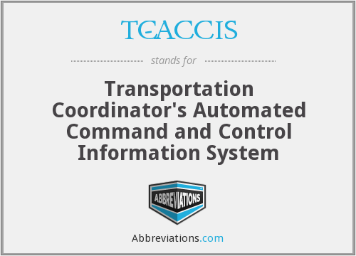 What does TC-ACCIS stand for?
