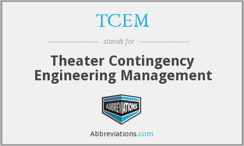 What does TCEM stand for?