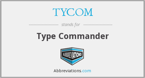 What does TYCOM stand for?