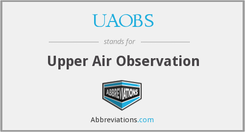 What does UAOBS stand for?