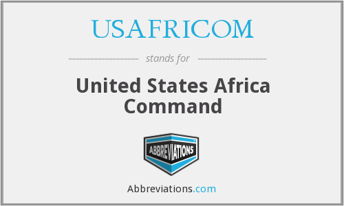 What does USAFRICOM stand for?