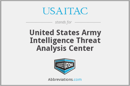 What does USAITAC stand for?