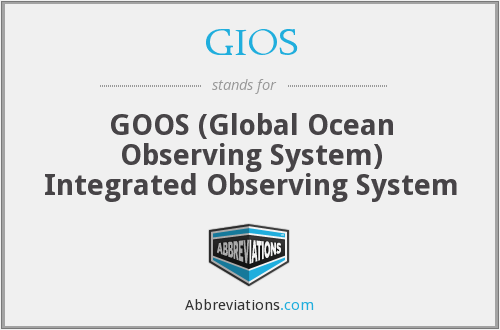 What does GIOS stand for?