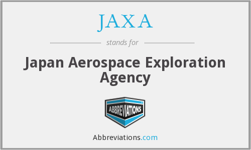 What does JAXA stand for?